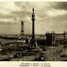 Postales: MONUMENTO A COLON - BARCELONA. Lote 182414908