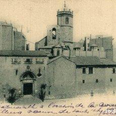 Postales: BARCELONA -SAN PEDRO DE LAS PUELLAS. Lote 182420295