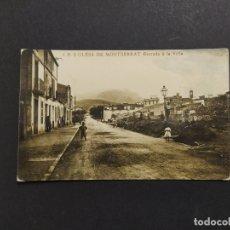 Postales: OLESA DE MONTSERRAT-ENTRADA A LA VILLA-J.B. 6-POSTAL FOTOGRAFICA-VER FOTOS-(63.932). Lote 182534995