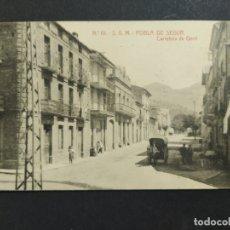 Postales: POBLA DE SEGUR-CARRETERA DE GERRI-10-THOMAS-POSTAL ANTIGA-(63.952). Lote 182538790