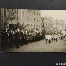 Postales: POSTAL MILITAR BARCELONA-FOTOGRAFIA JOSE MARIA SAGARRA-POSTAL FOTOGRAFICA ANTIGA-(63.959). Lote 182539586