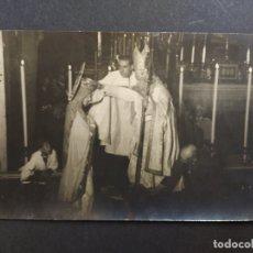 Postales: VILANOVA I LA GELTRU-ACTO RELIGIOSO CON LA VIRGEN-POSTAL FOTOGRAFICA ANTIGA-(63.960). Lote 182539755