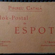 Postales: ESPOT .- BLOK POSTAL 1ª SERIE PIRINEU CATALÀ .- FOTO SILVI GORDO MONTAÑA S.G.M. 12 POSTALES. Lote 182575836