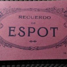 Postales: ESPOT .- RECUERDO DE ESPOT 16 POSTALES .- FOTO M. SOLÉ. Lote 182578290