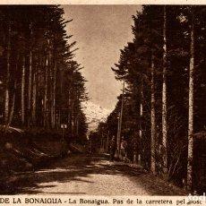 Postales: PUERTO DE LA BONAIGUA PASO DE LA CARRETERA. Lote 182671293