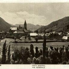 Postales: LLEIDA VALL D' ARAN UNYÁ VISTA GENERAL. Lote 182671635
