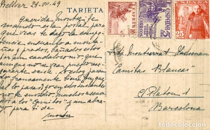 Postales: BELLVER CERDAÑA VISTA PARCIAL - Foto 2 - 182671701