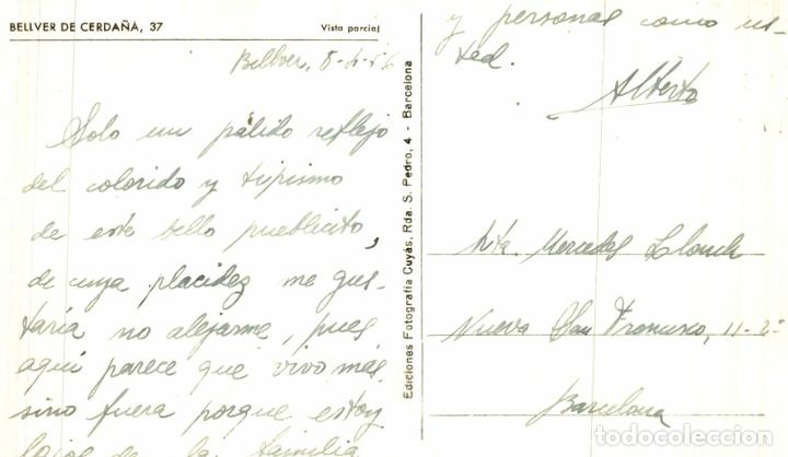 Postales: BELLVER CERDAÑA. VISTA PARCIAL - Foto 2 - 182671773