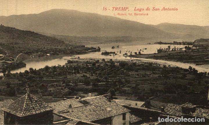TREMP. SAN ANTONIO. EL LAGO. (Postales - España - Cataluña Antigua (hasta 1939))