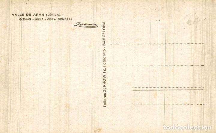Postales: VALL D' ARAN UNYÁ VISTA GENERAL. - FOTOGRAFICA - Foto 2 - 182672060