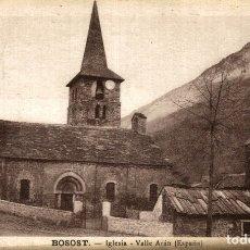 Postales: BOSOST IGLESIA. Lote 182674335