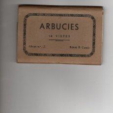 Postales: ARBUCIES.BLOC DE 10 POSTALES.COMPLETO. Lote 182709705