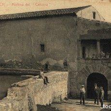 Postais: MONTBLANCH. MOLINO DE LA CERVERA. Lote 182751290
