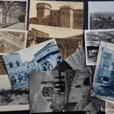 Postales: 22 ANTIGUAS POSTALES DEL MONASTERIO DE POBLET (TARRAGONA). Lote 182791805
