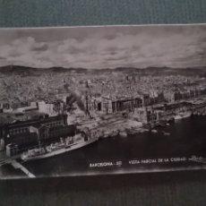 Postales: POSTAL BARCELONA. VISTA PARCIAL DE LA CIUDAD. Lote 182794273