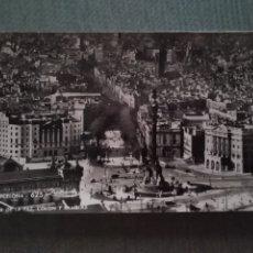 Postales: POSTAL BARCELONA . PUERTA DE LA PAZ, COLON Y RAMBLAS. Lote 182794347