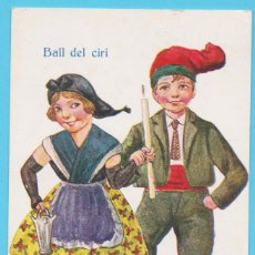 Postales: BALL DEL CIRI. NUM 1298. BALLS REGIONALS. JIMMY. EDICIONES VICTORIA N. COLL SALIETI. 1929. Lote 182835903
