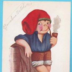 Postales: NUM 415. TIPO CATALÀ. J. IBÁÑEZ. EDICIONES VICTORIA N. COLL SALIETI. 1924. Lote 182836372