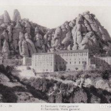 Postales: MONTSERRAT - EL SANTUARIO VISTA GENERAL (NO. 39) - FOT. JUNQUÉ. Lote 182868218