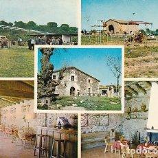 Postales: GIRONA MAS FLASSIA RESTAURANTE EN VIDRERAS AÑO 1967. Lote 182873202