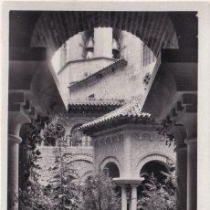 Postales: MONTSERRAT - DETALLE DEL CLAUSTRO ROMÁNICO (NO. 363) - FOT. RIPOL. Lote 182874895