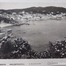 Postales: P-9597. CALELLA DE PALAFRUGELL (GIRONA). FOTO PUIGROSS. AÑOS 50. SIN CIRCULAR.. Lote 183011793