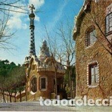 Postales: BARCELONA - Nº 2107 PARQUE GÜEL ENTRADA - AÑO 1963 - SIN CIRCULAR. Lote 183014881