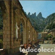 Postales: BARCELONA - Nº 11 MONTSERRAT - PLAZA DEL SANTUARIO DETALLE - AÑO 1970 - SIN CIRCULAR. Lote 183016315