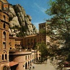 Postales: BARCELONA - Nº 32 MONTSERRAT MONASTERIO DETALLE - AÑO 1970 - SIN CIRCULAR. Lote 183016877