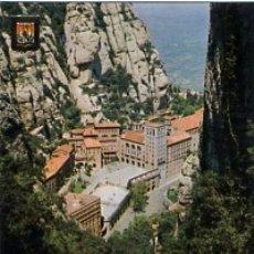 Postales: BARCELONA - Nº 33 MONTSERRAT FUNICULAR DE SAN JUAN - AÑO 1970 - SIN CIRCULAR. Lote 183017035