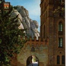 Postales: BARCELONA - Nº 34 MONTSERRAT MONASTERIO DETALLE - AÑO 1970 - SIN CIRCULAR. Lote 183017180
