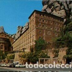 Postales: BARCELONA - Nº 118 MONTSERRAT ABSIDE DE LA BASILICA Y MONASTERIO - AÑO 1977 - SIN CIRCULAR. Lote 183017927