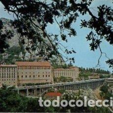 Postales: BARCELONA - Nº 127 MONTSERRAT VISTA DEL MONASTERIO - AÑO 1977 - SIN CIRCULAR. Lote 183018236