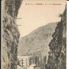 Postales: POSTAL RIBAS (GIRONA) - PARRAMÓN . ED. N.C.LL. (HENRICH Y Cª). Lote 183195251
