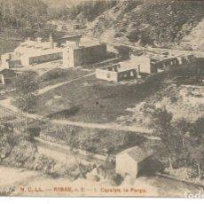 Postales: POSTAL RIBAS (GIRONA) - CARALPS, LA FARGA - ED. N.C.LL. (HENRICH Y Cª). Lote 183195868