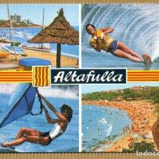 Postales: POSTAL ALTAFULLA COSTA DORADA. Lote 183292685