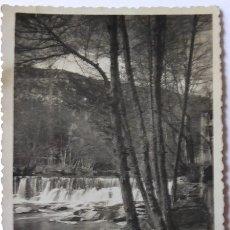 Postales: P-9613. SANTA EUGENIA DEL CONGOST. CASCADA.. CIRCULADA. AÑO 1952.. Lote 183326061