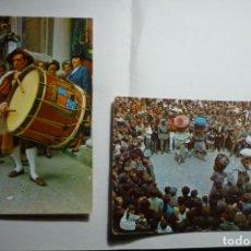 Postales: LOTE POSTALES BERGA FIESTAS LA PATUM CM. Lote 183344935