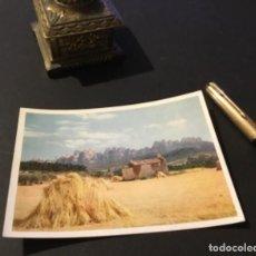 Postales: ANTIGUA POSTAL BARCELONA MONTSERRAT FORMIDABLE. Lote 183431468
