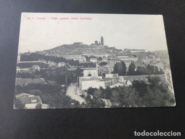 LERIDA VISTA PARCIAL DESDE GARDENY (Postales - España - Cataluña Antigua (hasta 1939))