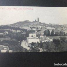 Postales: LERIDA VISTA PARCIAL DESDE GARDENY. Lote 183436213