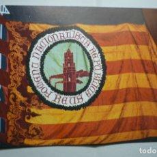 Postales: POSTAL REUS - BANDERA FOMENTO REPUBLICANO -REUS CANDIDATURA ESQUERRA REPUBLICANA -ELECCIONES 1979 -. Lote 183481443