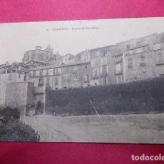 Postales: TARJETA POSTAL. 3. CARDONA. PUERTA DE BARCELONA. EDI: VDA. CLEMENTE PARCERISAS. Lote 183527768