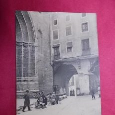 Postales: TARJETA POSTAL. 8. CARDONA. PLAZA DEL MERCADO. EDI: VDA. CLEMENTE PARCERISAS. Lote 183527973