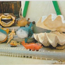 Postales: VILANOVA I LA GELTRU, MUSEO DE CURIOSIDADES MARINERAS - ED. BEASCOA - DORSO EXPLICATIVO. Lote 183530621