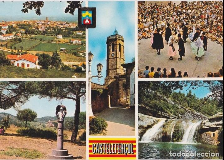CASTELLTERÇOL, DIFERENTES ASPECTOR - ESCUDO DE ORO Nº 1 - S/C (Postales - España - Cataluña Moderna (desde 1940))