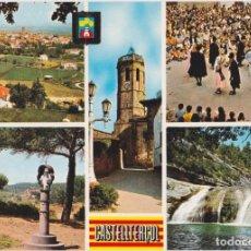 Postales: CASTELLTERÇOL, DIFERENTES ASPECTOR - ESCUDO DE ORO Nº 1 - S/C. Lote 183530681