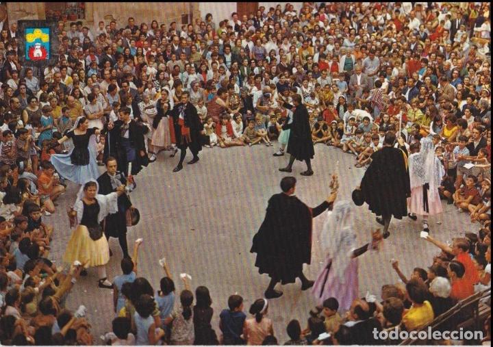 CASTELLTERÇOL (BARCELONA) BALL DEL CIRI - ESCUDO DE ORO Nº 4728 - EDITADA EN 1969 - S/C (Postales - España - Cataluña Moderna (desde 1940))