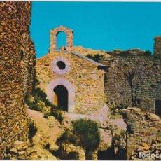 Postales: PALAFOLLS (BARCELONA) ERMITA CASTILLO - FOTO J. MOMPIÓ - ED.PERGAMINO 1582 - S/C. Lote 183531005