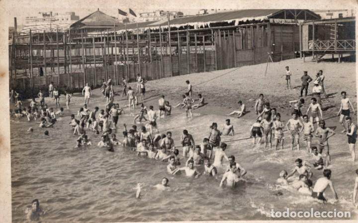 BARCELONA. BAÑOS BARCELONETA. FOTOGRÁFICA (Postales - España - Cataluña Antigua (hasta 1939))
